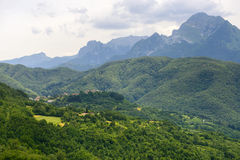 Foce Carpinelli, Тоскана Стоковое Изображение RF