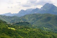 Foce Carpinelli, Toscane Image libre de droits