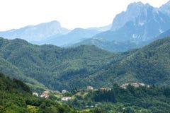 Foce Carpinelli, Toscane Photos stock