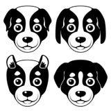 Focinho de Puppy Desenhos animados Imagens de Stock