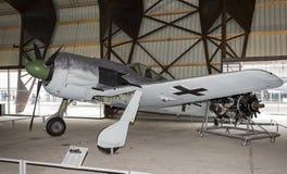 Focke-Wulf Fw 190类型A8 V1 1939年德国在Ast博物馆  库存图片