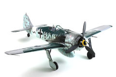 Focke Wulf Fw-190 Model royalty free stock images
