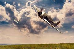 Focke-Wulf 190 Royalty Free Stock Photo
