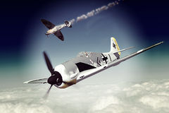 Focke-Wulf 190 Stock Photography