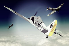 Focke-Wulf 190 Royalty Free Stock Images