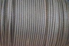 Foco borrado e macio do delicado abstrato da textura de superfície da barra de aço velha, fio do ferro, haste de aço, máquina vel Foto de Stock