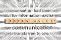 Foco en la comunicación foto de archivo