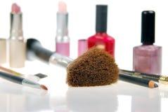 Foco macio dos cosméticos Fotografia de Stock