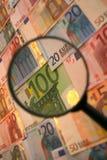 Foco na economia Fotografia de Stock Royalty Free