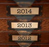 Foco retro el 2013 Foto de archivo libre de regalías