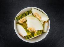 Foco selectivo de los melones de Futuro Foto de archivo