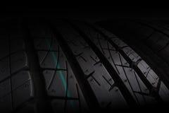 Foco seletivo da pilha do pneu Imagem de Stock Royalty Free