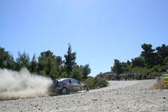 Foco WRC de Ford Imágenes de archivo libres de regalías