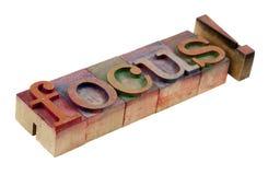 Focus Stock Image