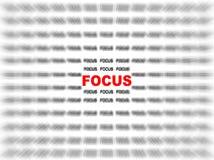 Focus Royalty Free Stock Photos