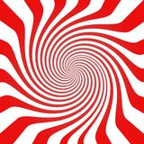 Focus Blank Generic Abstract Background. In red and white Vector Illustration