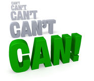 Focus on Can! Stock Photos