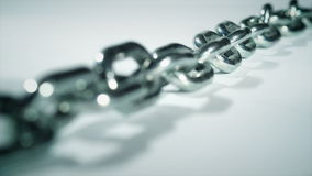 Focus On A Chain stock footage