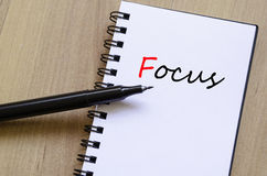 Focus Concept Stock Image