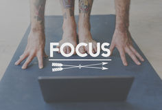 Focus Determine Mission Target Vision Concept Royalty Free Stock Photography
