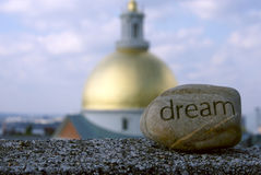 Focus on dreams Stock Image