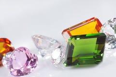 Focus On Emerald. Gems,shallow focus on emerald stock image