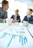 Focus on finance Stock Image