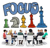 Focus Focal Concentration Attention Concept Stock Images