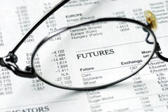 Focus on the futures market Stock Images