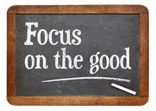 Focus on the good - positivity concept Royalty Free Stock Images