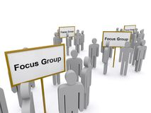 Focus groups Stock Photos