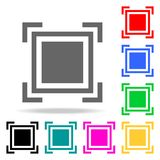 Focus icon. Elements in multi colored icons for mobile concept and web apps. Icons for website design and development, app develop. Ment on white background Royalty Free Stock Image