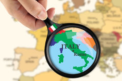 Focus in Italy Royalty Free Stock Photos