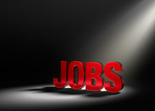 Focus On Jobs Royalty Free Stock Image