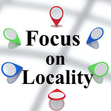 Focus on Locality concept Royalty Free Stock Photography