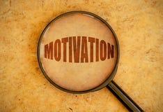 Focus on motivation Stock Photos