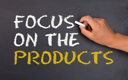 Focus on the product Stock Images