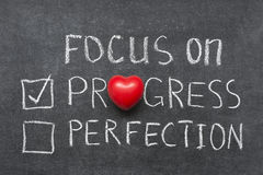 Focus on progress Royalty Free Stock Photography