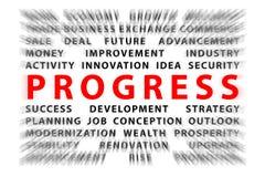 Focus on PROGRESS Stock Images