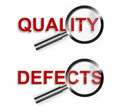 Focus Quality Defects Symbol Royalty Free Stock Images