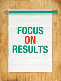 Focus On Results Royalty Free Stock Image