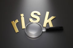 Focus on risk Stock Photos