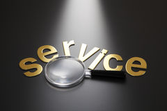 Focus on the service Royalty Free Stock Photo