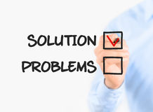 Focus on solution Royalty Free Stock Image
