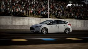 focus ST racing Stock Photo