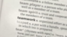 Focus on teamwork Royalty Free Stock Image