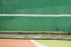 Focus of tennis field. Focus of an outdoor tennis field stock images