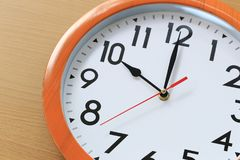 Free Focus Time In Clock Of Ten O Clock For The Design In Your Busine Stock Photography - 108795512