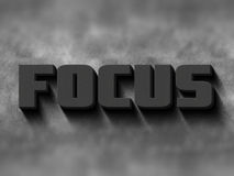 Focus word Royalty Free Stock Images