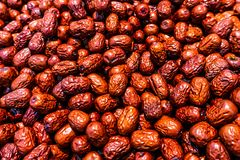 Chinese Jujube Focused stock photo